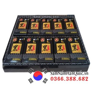 Nước hắc sâm Bio Apgold Hàn Quốc hộp 60 gói x 25ml cao cấp