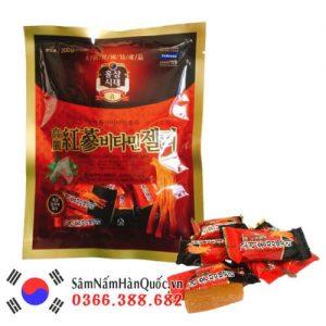 Kẹo hồng sâm Hàn Quốc dẻo 200g thơm ngon bổ dưỡng