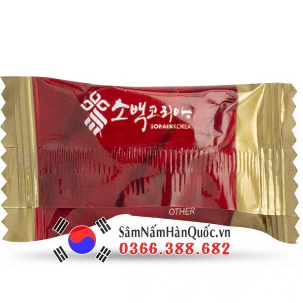 Kẹo hồng sâm Sobaek túi 200g giá rẻ thơm ngon bổ dưỡng